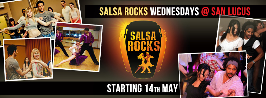 Salsa Rocks Launch Banner